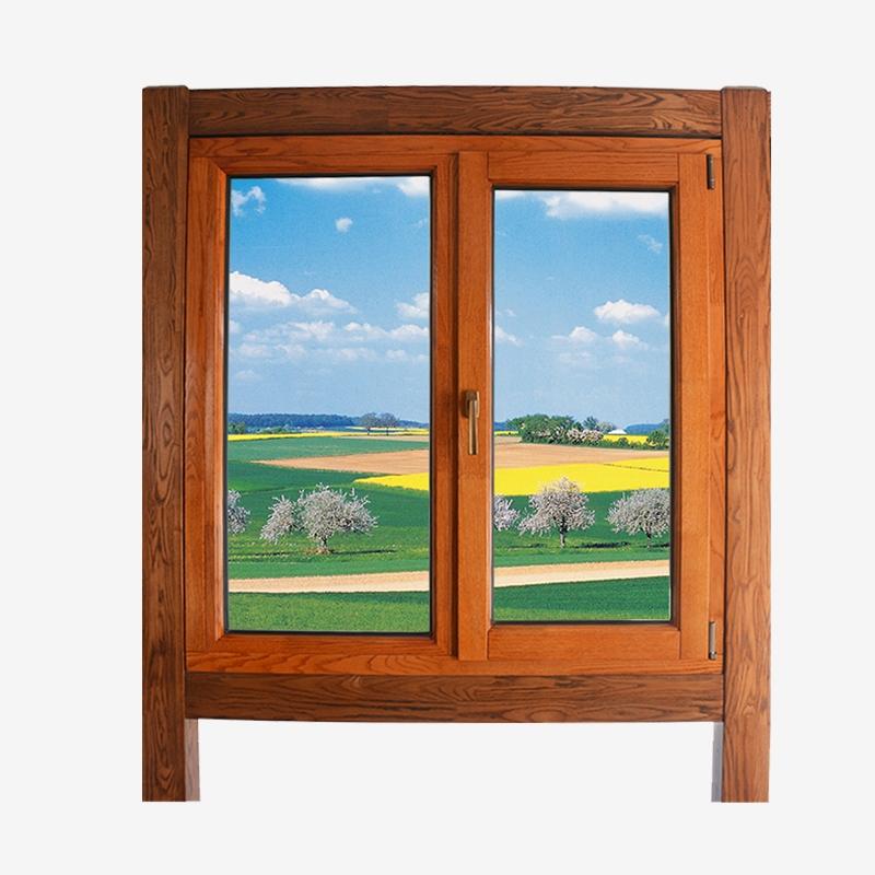 铝木复合平开门窗